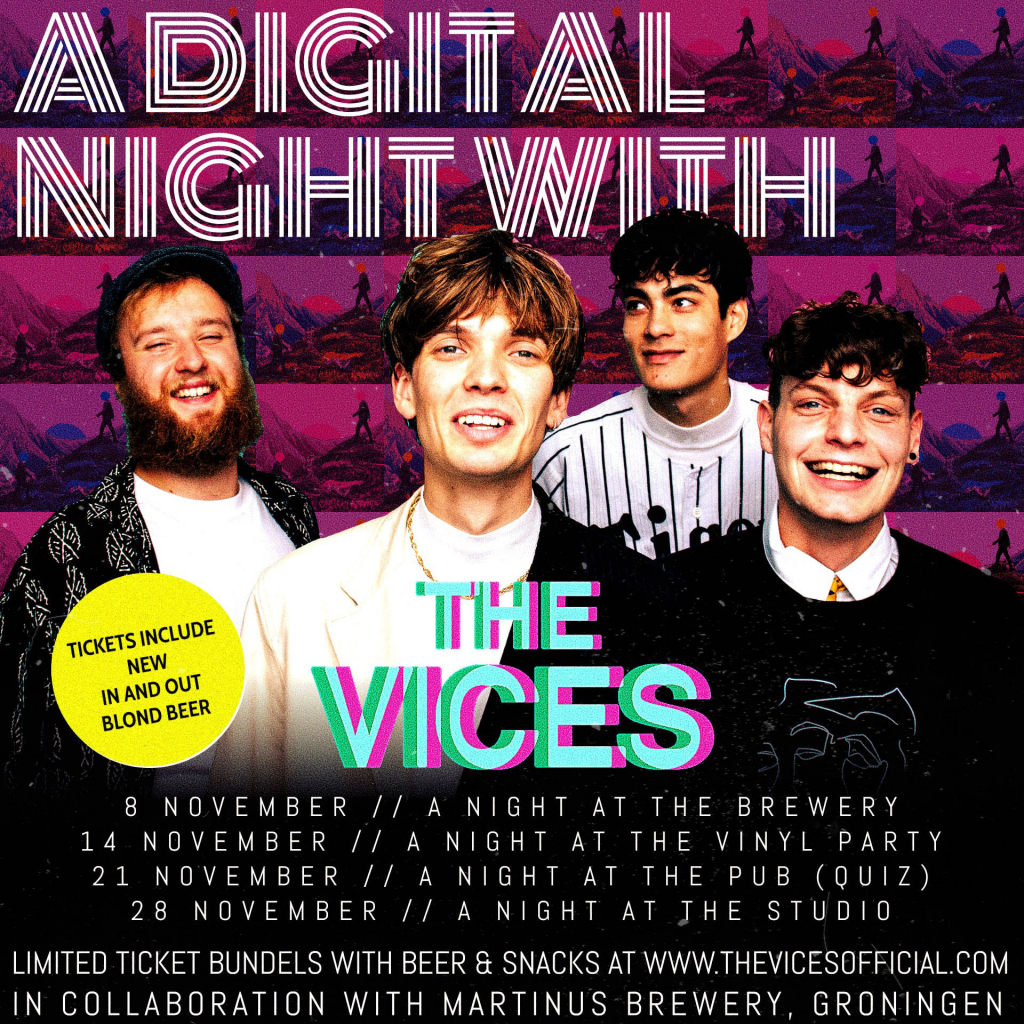 A digital night with The Vices